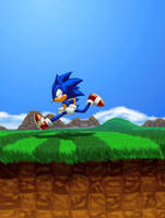 The Legend of Sonic the Hedgehog: Green Hill Zone by Hyperchaotix