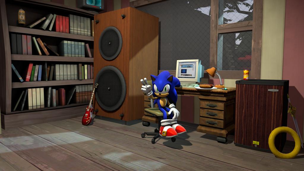 Sonic s Room  SFM  by Hyperchaotix. Sonic s Room  SFM  by Hyperchaotix on DeviantArt