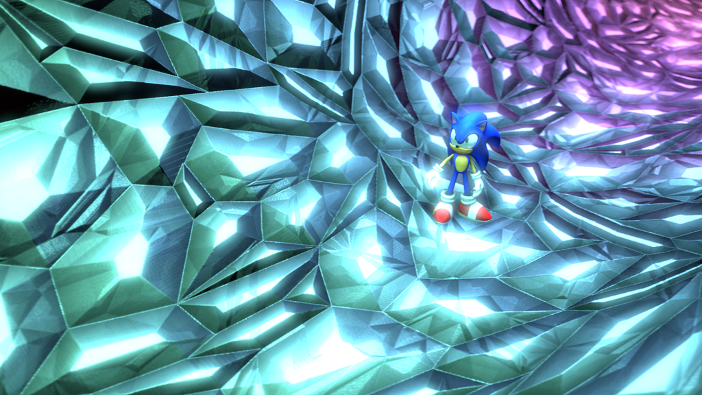 SFM Rainbow Crystal Tunnel by Hyperchaotix