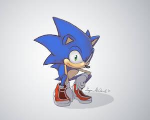 Just a hedgehog