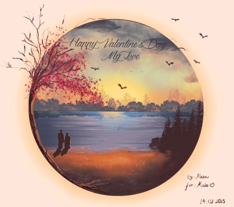 Happy Valentines Day by gatadaay