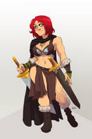 Commission + Tyra_2 + by Ibealia