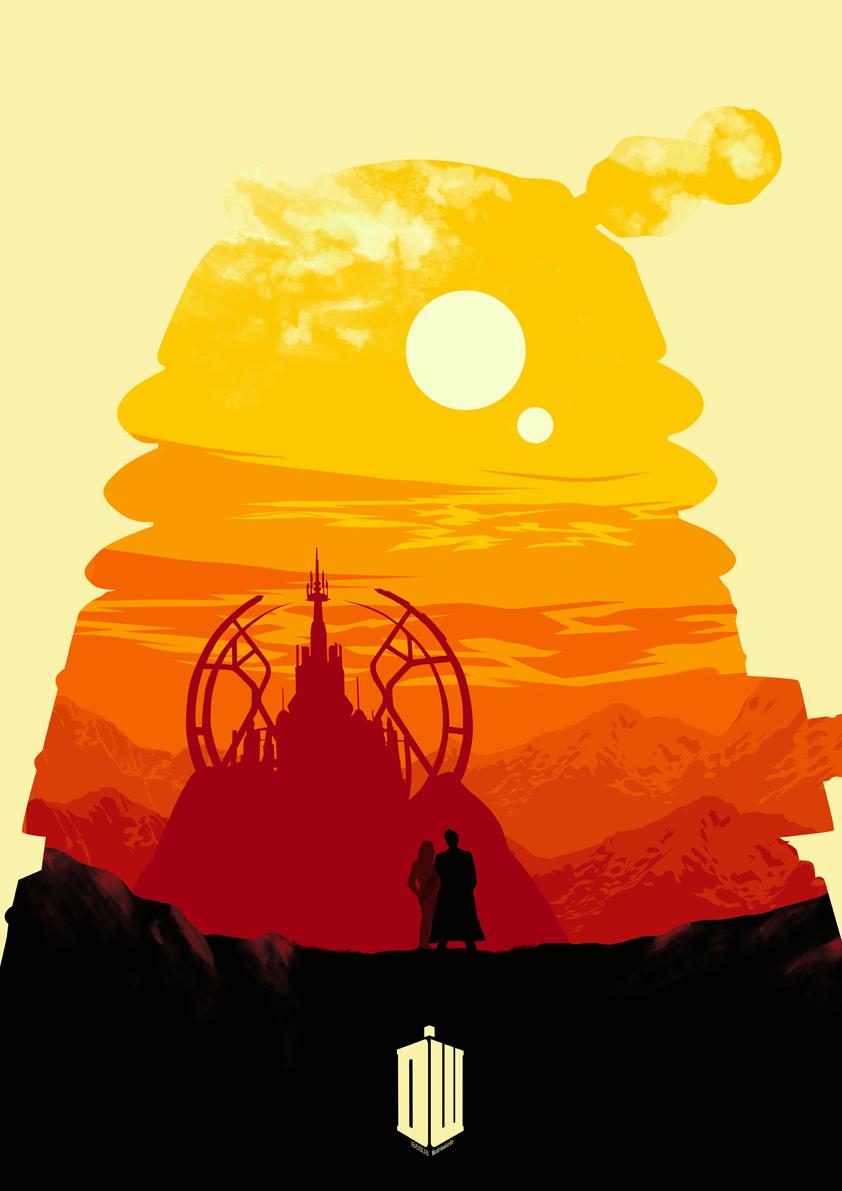 Fanart Dalek - Doctor Who