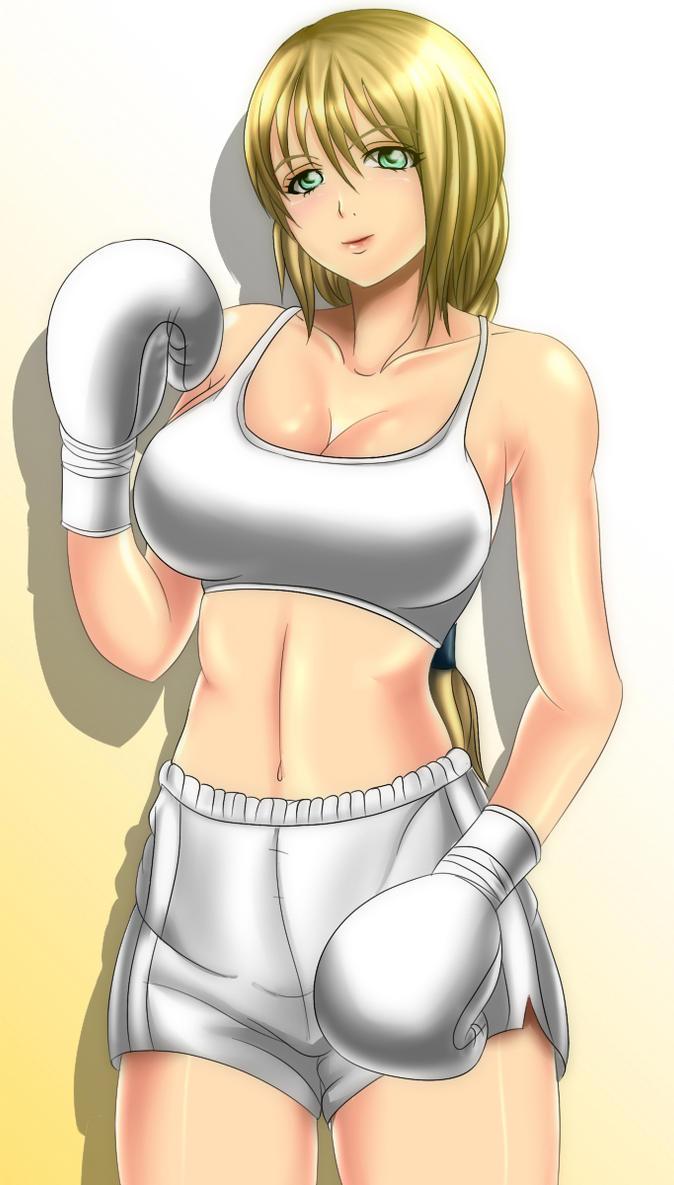 FABTB Boxer  Sophitia by MasterSaruwatari