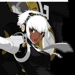 Aigis Portrait as Neggy By CaliburWarrior
