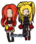 Boxers Mii and Xiaomu By ShadowHachia by MasterSaruwatari