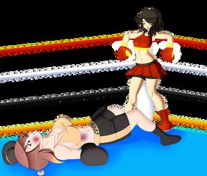 RWBY Boxing: Cinder vs. Coco By 3dboxing by MasterSaruwatari
