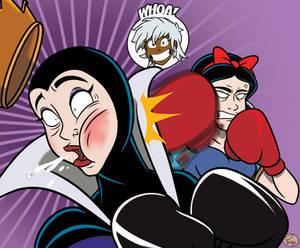 Snow White vs. Evil Queen 6