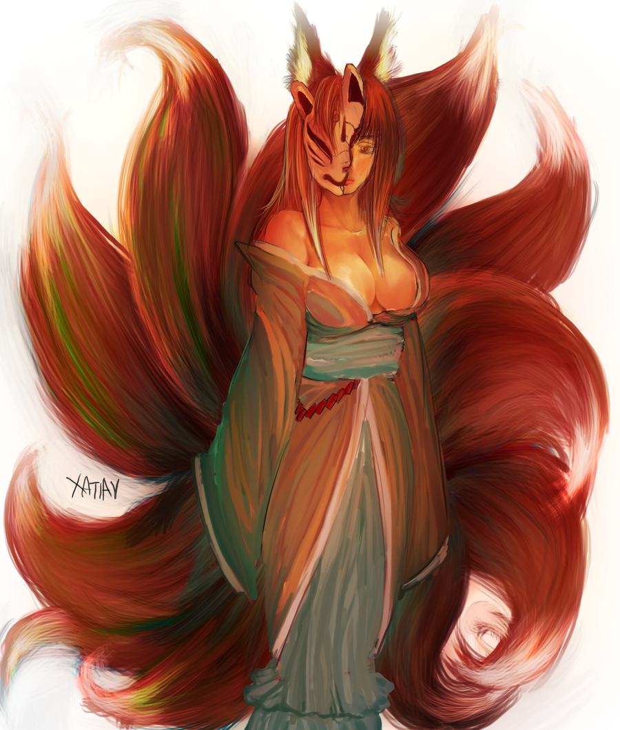 anime fox spirit wallpapers - photo #32