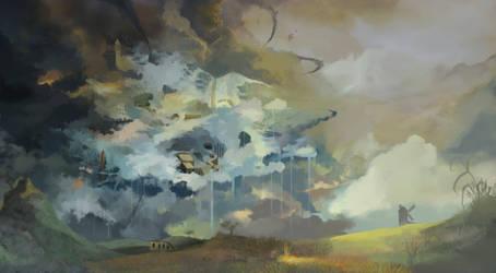PonyCraft - Cloudsdale by Xatiav