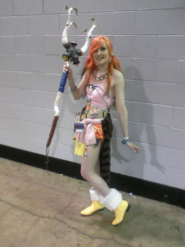 My Cosplay of Vanille ACen 2011 by forsakenkikyo