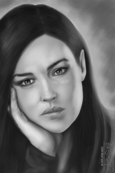 Monica Anna Maria Bellucci by InderliebeHerz