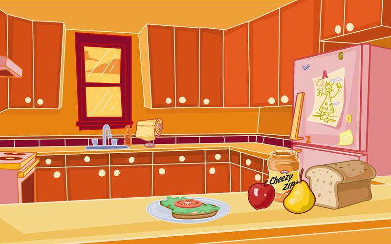 Kitchen background by kellistrator on deviantart for Kitchen set 2d