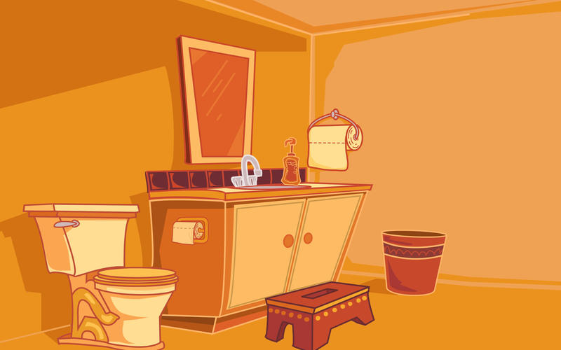 Bathroom interior by kellistrator on deviantart - Picture of bathroom ...