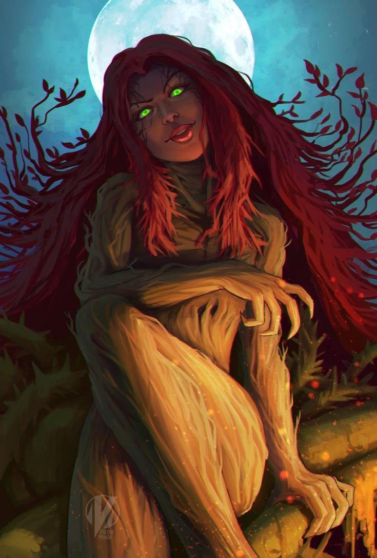 (SixFanArt) Poison Ivy by VictorModa