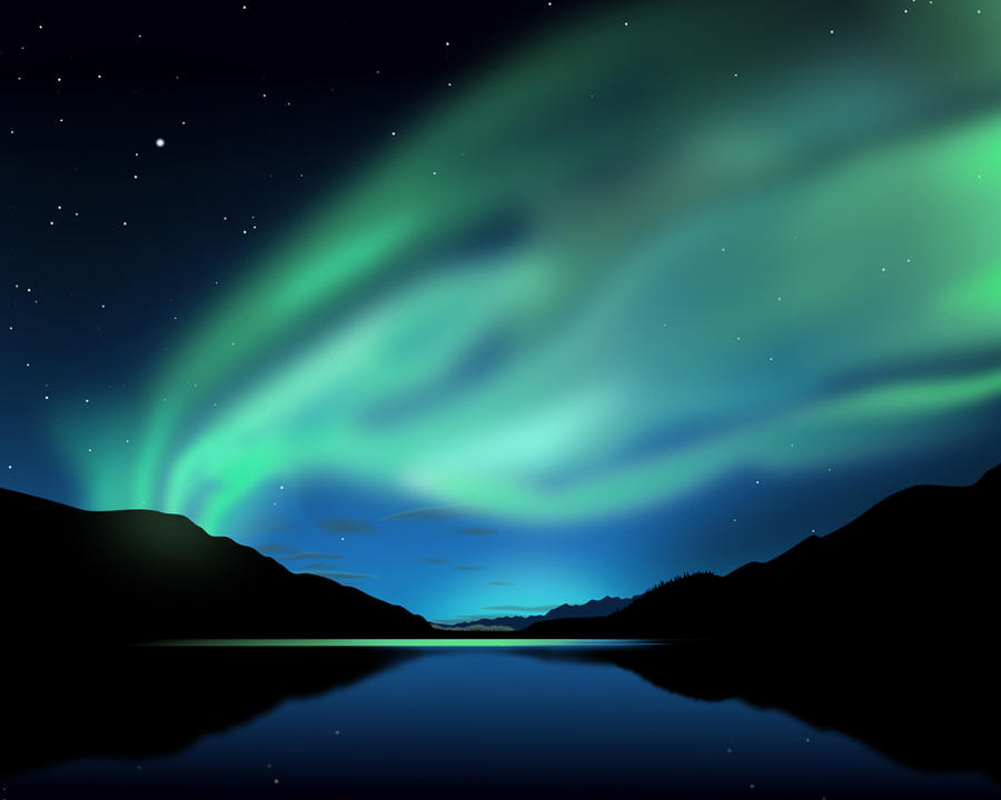Polar Lake by etwoo