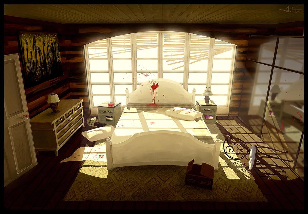 Bedroom By Etwoo On Deviantart