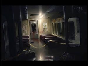 Flooded subway - Murder