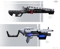 Weapons concept by etwoo