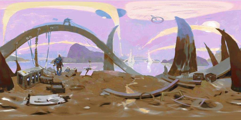 Somewhere in a Galaxy far, far away... by etwoo