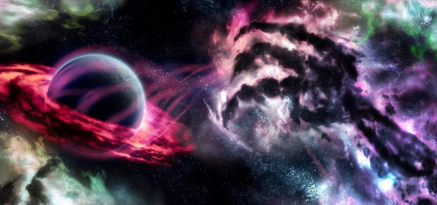 Cosmic Horror by NoxinOen