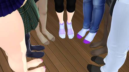 Socks and Feet Club by tehfogo