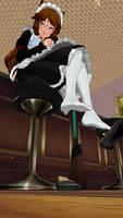 Maid Chiya (Stockings Version)