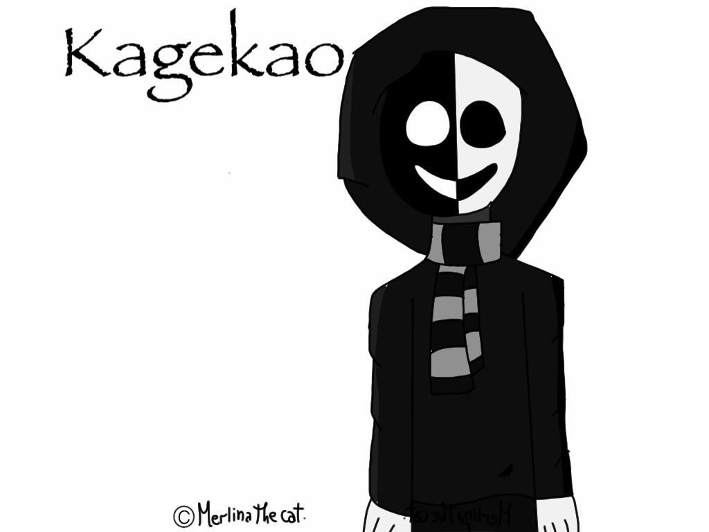 Fanart- Kagekao by Merlinathecat