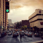 New York - 7th ave by DarkSaiF