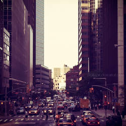New York - A Moment by DarkSaiF