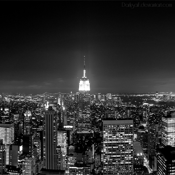 New York - Night by DarkSaiF