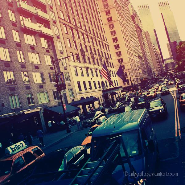 New York - W 59th Street by DarkSaiF