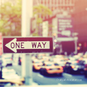 New York - One Way...