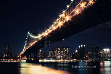 New York - Manhattan Bridge by DarkSaiF