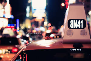 New York - Taxi by DarkSaiF