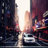 New York - Sunset by DarkSaiF