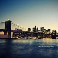 New York - Brooklyn Bridge II by DarkSaiF