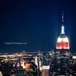 New York - Empire State by DarkSaiF