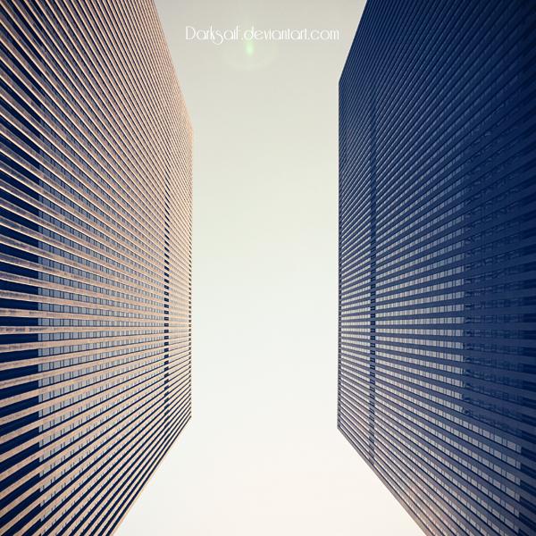 New York - Skyscrapers by DarkSaiF
