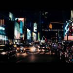 New York - City lights