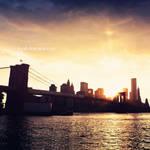 New York - Sunset time