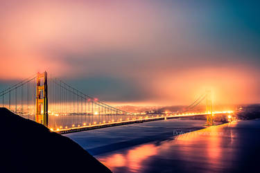 San Francisco - Golden Gate Bridge by DarkSaiF