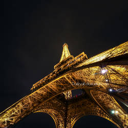 Paris - Eiffel Tower II by DarkSaiF