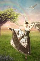 Dancing with rainbow by svetamk