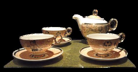 Tea set png by svetamk