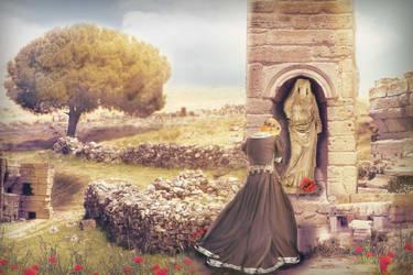 Goddess worship by svetamk
