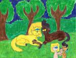 Lori, Bobby and Lambert (werewolf family)