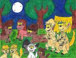 All the Loud siblings as werewolves (part 1)