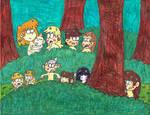 All the Loud siblings as werewolves (part 2)