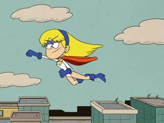 Power Girl Carol Pingrey by Parasomnico by Bry-Guy